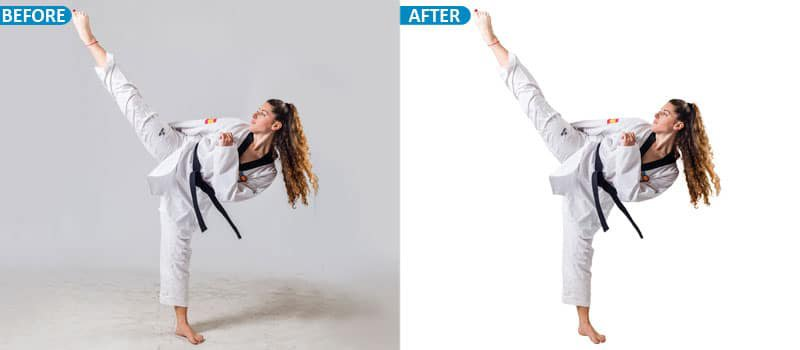 clipping path New York
