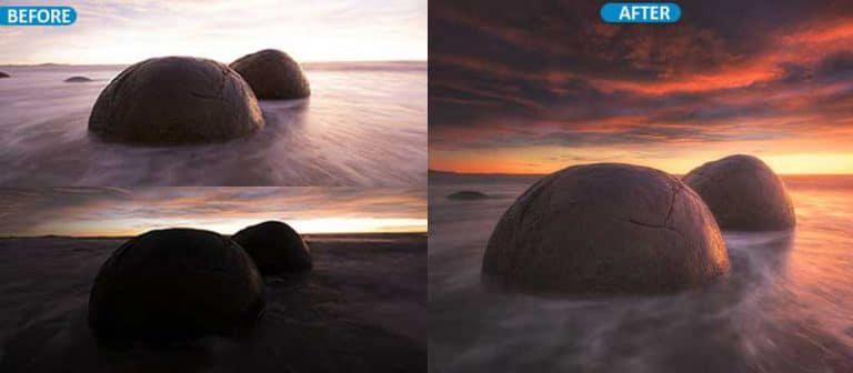HDR Photo blending service