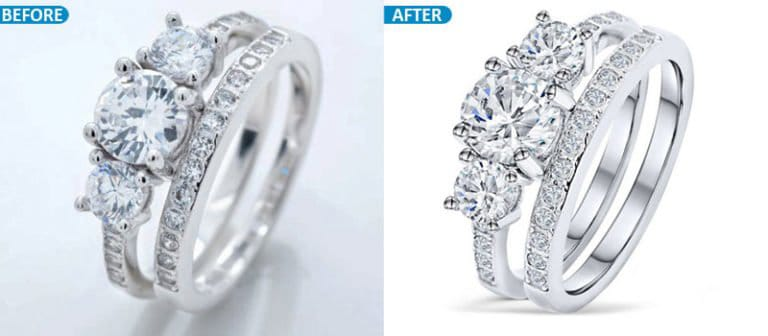 High-end jewelry retouching service