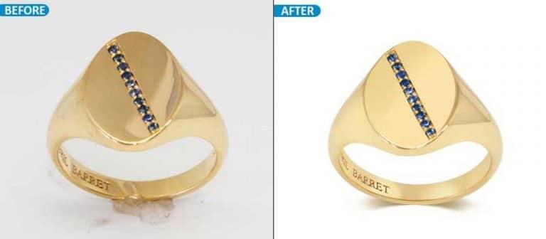 Jewelry Ring Retouching service