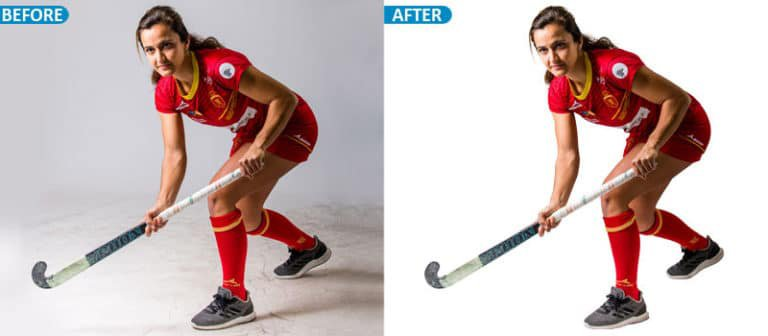 model clipping path service