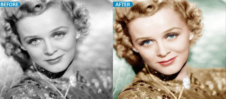 Photo restoration service   Color Restoration