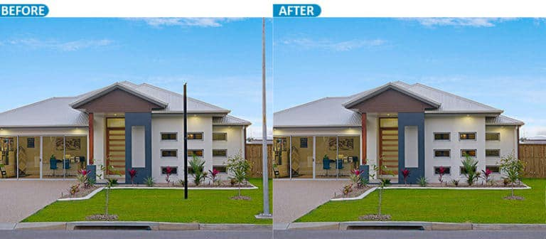Real state Retouching Service