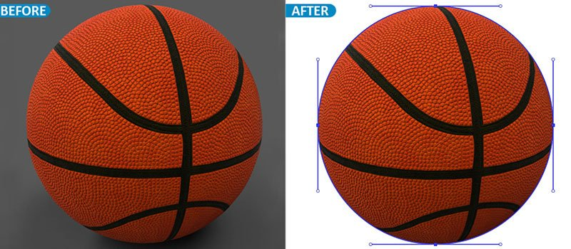 Simple clipping path service