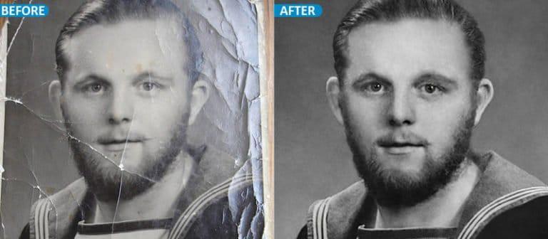 photo restoration service USA